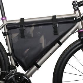 WOHO X-Touring Bolsa seca de cuadro L, negro